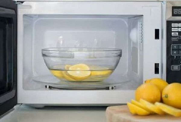 The Ultimate Microwave Cleaning Hack
