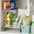3 Ways to Help You Keep Organized Under the Kitchen Sink