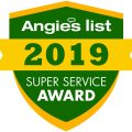 Green Frog Earns 2019 Angie's List Super Service Award