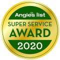 Green Frog Wins Again: 2020 Angie's List Super Service Award