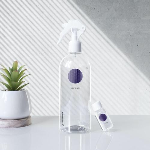 eco-friendly glass spay bottle